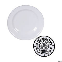 Color Your Own Island VBS Flying Discs