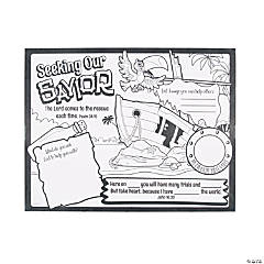 Color Your Own Island VBS Posters