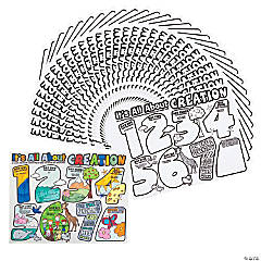 """Color Your Own ?""""It's All About Creation"""" Posters"""