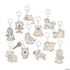 Color Your Own Keychain Assortment