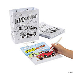 Color Your Own Medium Dig VBS Take Home Bags