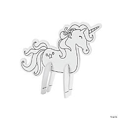 Color Your Own Mini Unicorn Characters