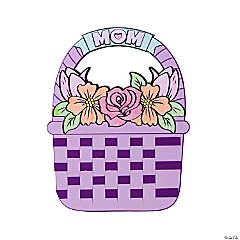 Color Your Own Mother's Day Basket Craft Kit