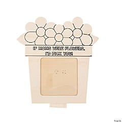 Color Your Own Mother's Day Picture Frames