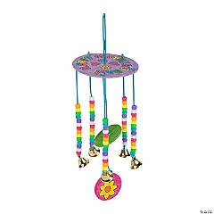 Color Your Own Mother's Day Wind Chimes Craft Kit