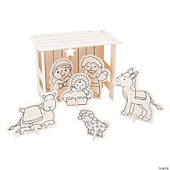 Color Your Own Nativity Stable Sets