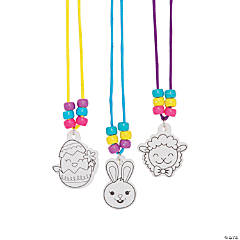 Color Your Own Necklace Easter Egg Fillers