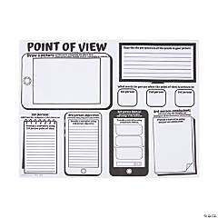 "Color Your Own ""Point of View"" Posters"