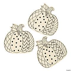 Color Your Own Pumpkins