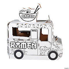 Color Your Own Ramen Truck Playhouse