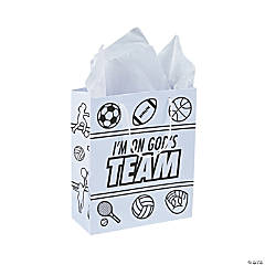 Color Your Own Sports VBS Take Home Bags