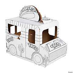 Color Your Own Taco Truck Playhouse