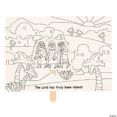 Color Your Own The Road to Emmaus Pop-Up Activities