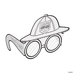Color Your Own Treasure Hunt VBS Helmet & Glasses