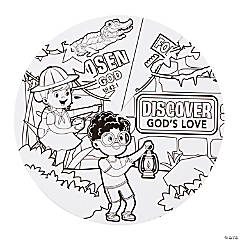 Color Your Own Treasure Hunt VBS Wheels
