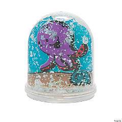 Color Your Own Under the Sea Water Globe Craft Kit