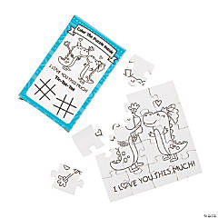 Color Your Own Wedding Puzzles with Activity Boxes