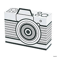 Color Your Own Wild Encounters VBS Camera Treat Boxes