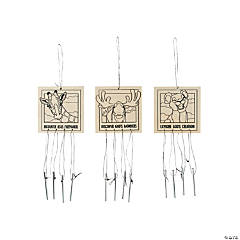 Color Your Own Wild Encounters VBS Wind Chimes