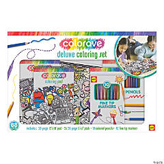 Colorave Deluxe Coloring Set-