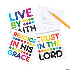 Colorful Bible Verse Notepads