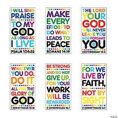 Colorful Bible Verse Posters