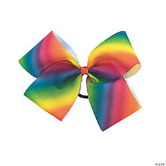 Colorful Dance Star Hair Bow