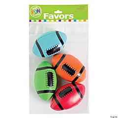 Colorful Foam Footballs