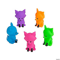 Colorful Fox Characters