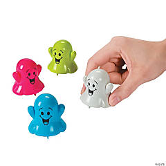 Colorful Ghost Pull-Back Toys