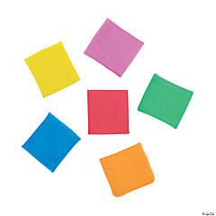 Colorful Kneaded Erasers - 24 Pc.