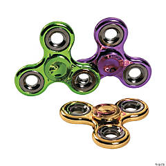 Colorful Metallic Fidget Spinners