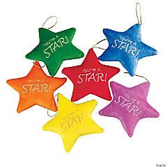 Colorful Plush Stars