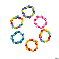 Colorful Seed Bead Rings