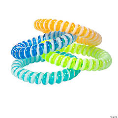 Colorful Stretchy Phone Cord Bracelets
