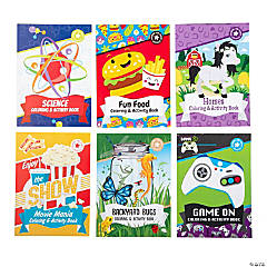 Coloring Pages & Puzzles Activity Pad Assortment