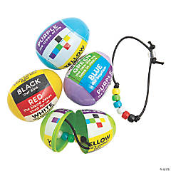 Colors of Faith Bracelet Craft Kit-Filled Easter Eggs