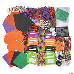Colossal Halloween Craft Supply Assortment