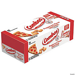 Combos Pepperoni Pizza Cracker Baked Snacks, 1.80 oz, 18 Count