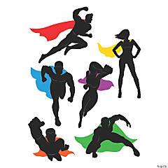 Comic Superhero Cutouts