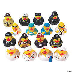 Community Helper Rubber Duckies Assortment