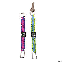 Compass Paracord Keychain Craft Kit