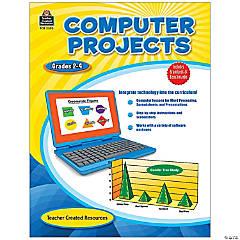 Computer Project Book, Grades 2-4