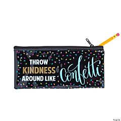 Confetti Be Kind Pencil Cases