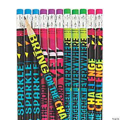 Confetti Classroom Pencils – Non-Cello Wrapped