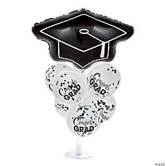 Confetti Graduation Balloon Centerpieces
