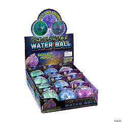 Confetti Light-Up Water Bead Squeeze Balls