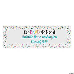 ConGRADulations Graduation Custom Banner - Medium