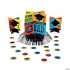Congrats Grad Graduation Party Table Decorating Kit