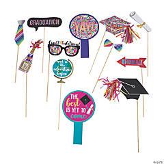Congrats Grad Party Photo Stick Props